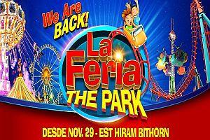 LA FERIA THE PARK - VIERNES A DOMINGO Y FERIADOS