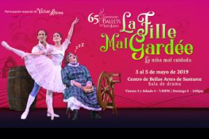 """BALLETS DE SAN JUAN TEMPORADA DE PRIMAVERA """"LA FILLE MAL GARDEE, SAN JUAN"""