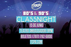 80'S & 90'S CLASS NIGHT, SANTURCE