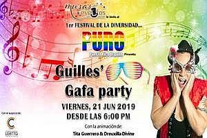 "PURO ""GUILLES' GAFA PARTY""; PUERTO RICO ORGULLO FESTIVAL DE LA DIVERSIDAD, SAN JUAN"
