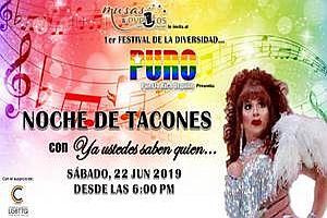 """PURO """"JOHNNY RAY""""; PUERTO RICO ORGULLO FESTIVAL DE LA DIVERSIDAD, SAN JUAN"""