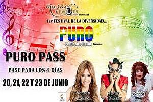 PURO PASS VALIDO PARA 4 DIAS; PUERTO RICO ORGULLO FESTIVAL DE LA DIVERSIDAD, SAN JUAN