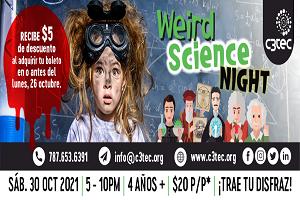 WEIRD SCIENCE NIGHT, C3TEC